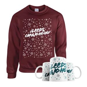 Â¡Leeds Carajo-hoho! Mug & Jumper Bundle (Maroon)
