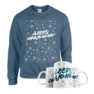 Â¡Leeds Carajo-hoho! Mug & Jumper Bundle (Indigo Blue)
