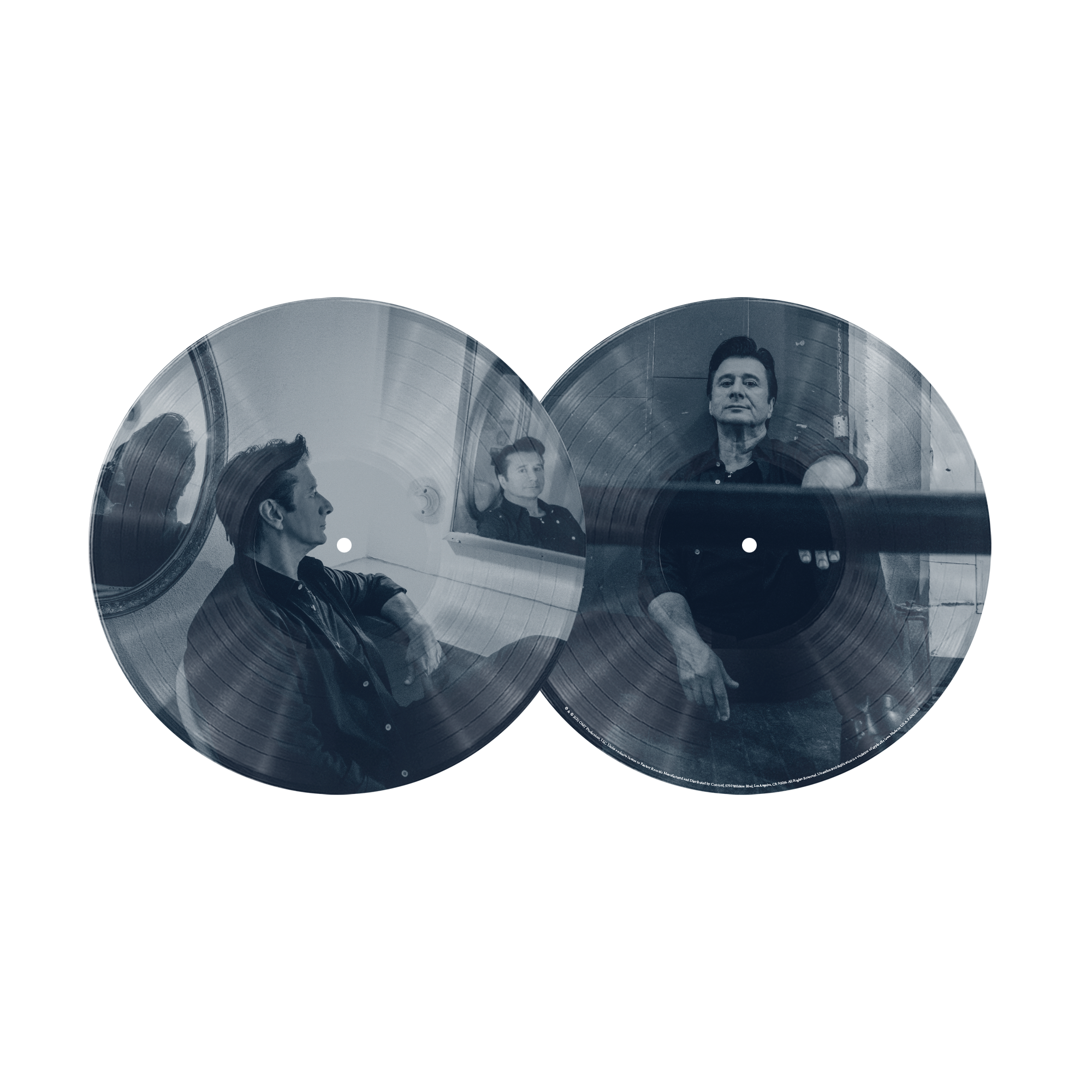 Traces Alternate Versions & Sketches SIGNED or UNSIGNED Deluxe 2xLP Translucent Blue Vinyl w/ Picture Disc (Only 700 available) + 2D Magnet