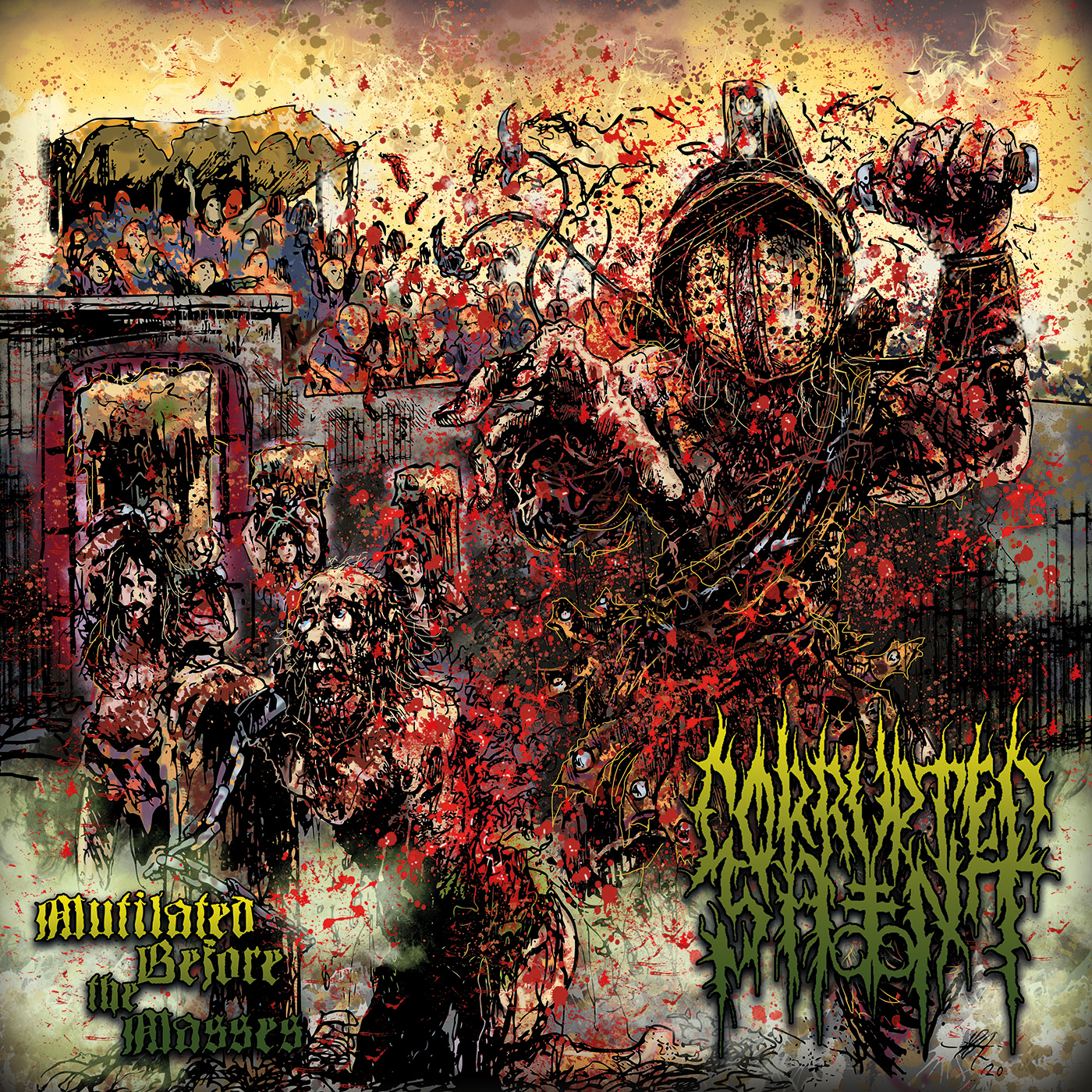 CORRUPTED SAINT - Mutilated Before the Masses