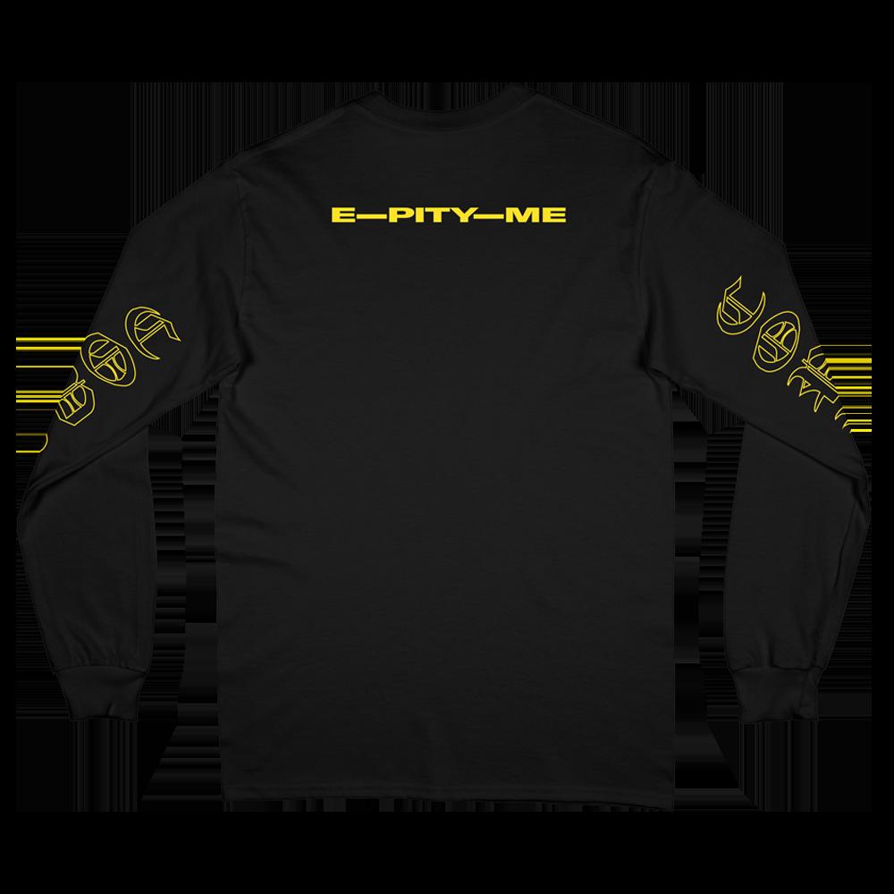 E-Pity-Me Long Sleeve - Black