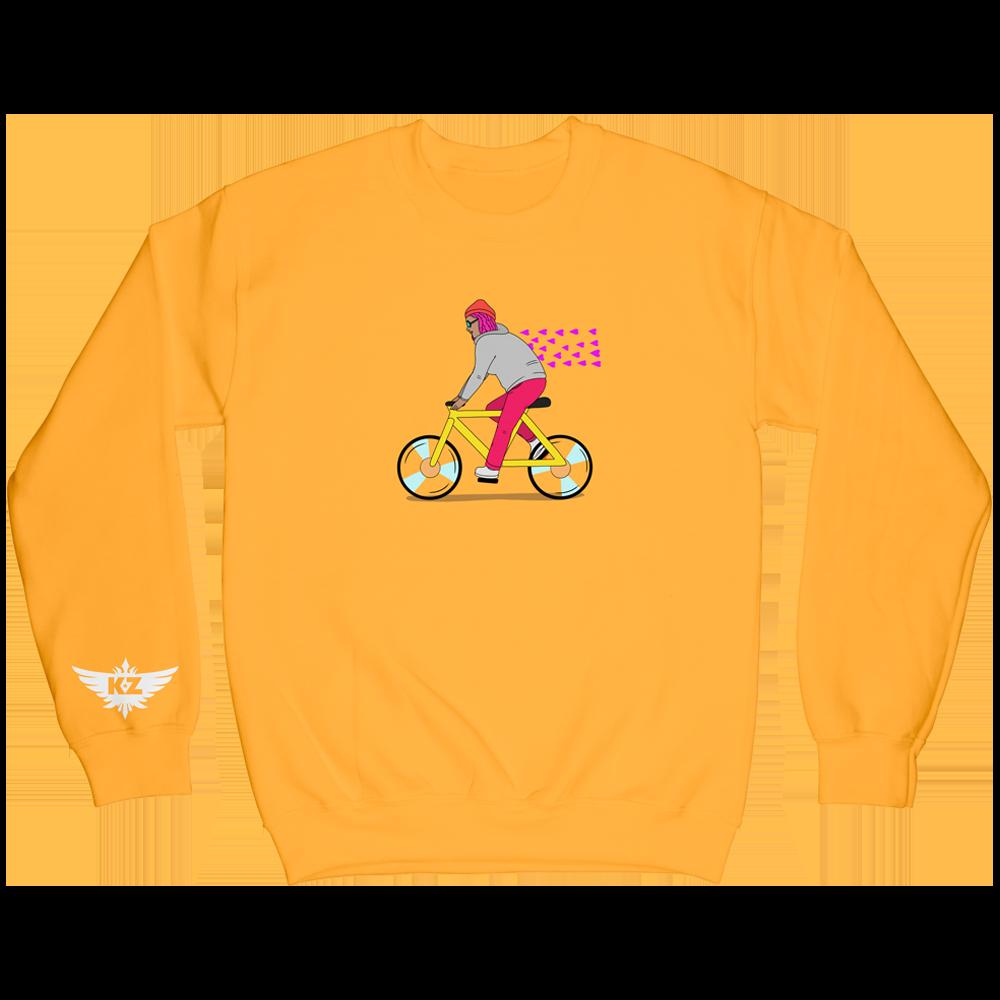 Bike Crewneck - Yellow