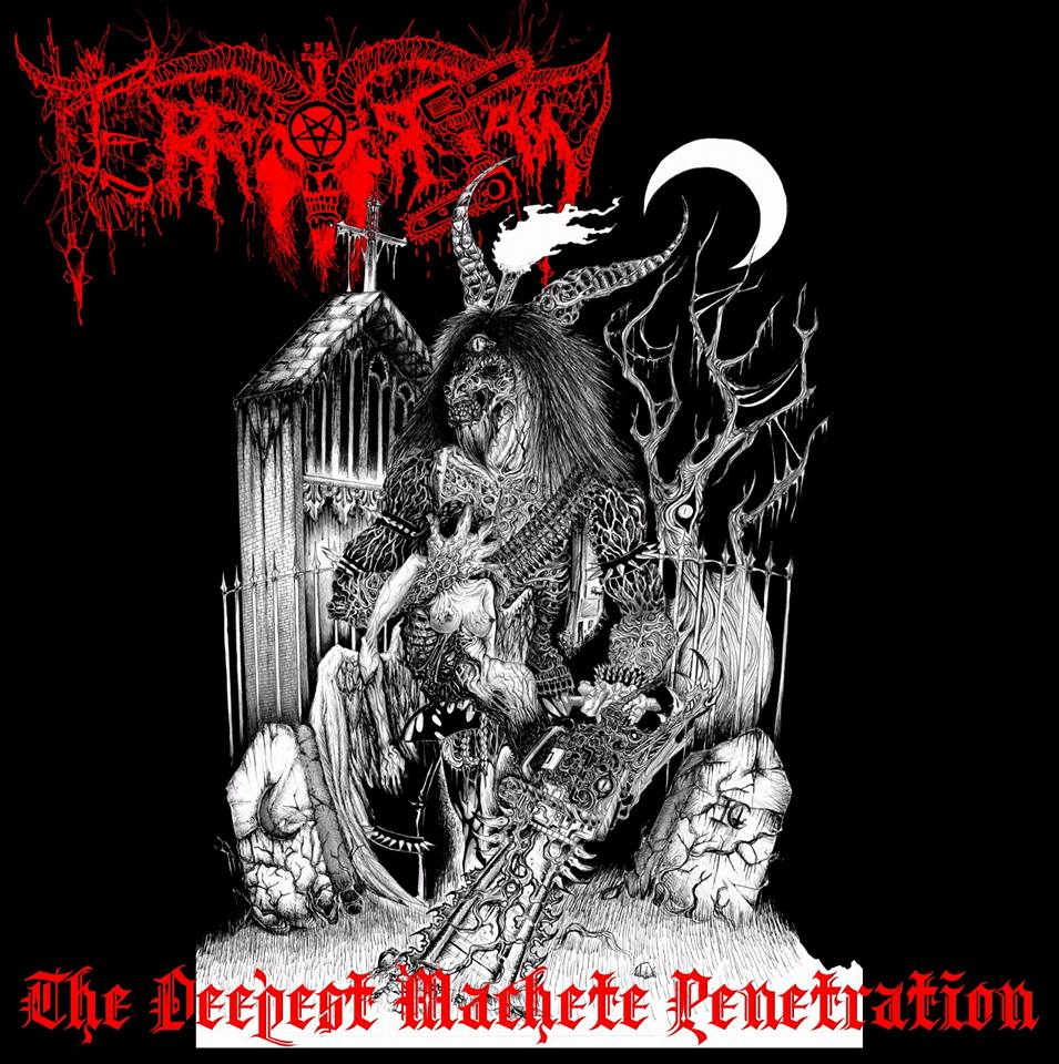 -sold out- Terrorsaw - The deepest machete penetration 7