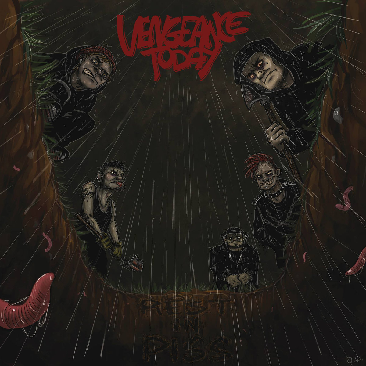 Vengeance Today - Rest in piss 7