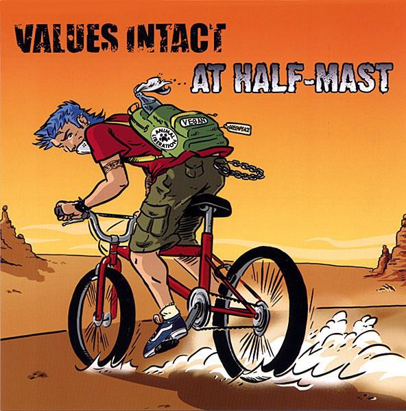 Values Intact / At Half-Mast split 7
