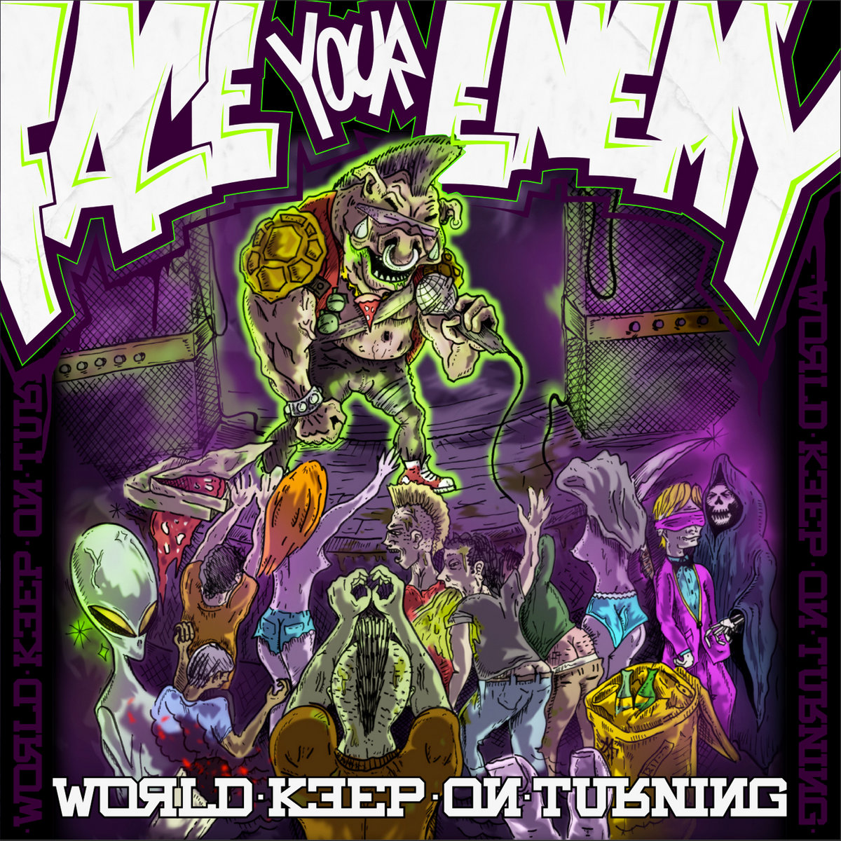 Face Your Enemy - World keep on turning CD