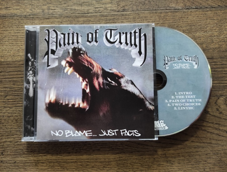 -sold out- Pain Of Truth - No blame... just facts CD