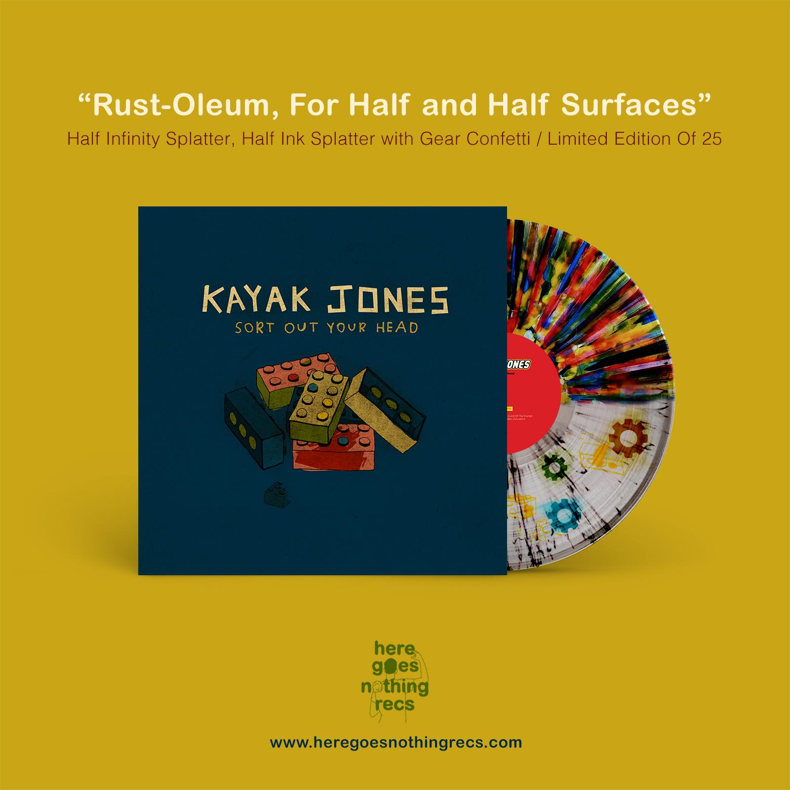 """Kayak Jones - """"Sort Out Your Head - EP"""""""