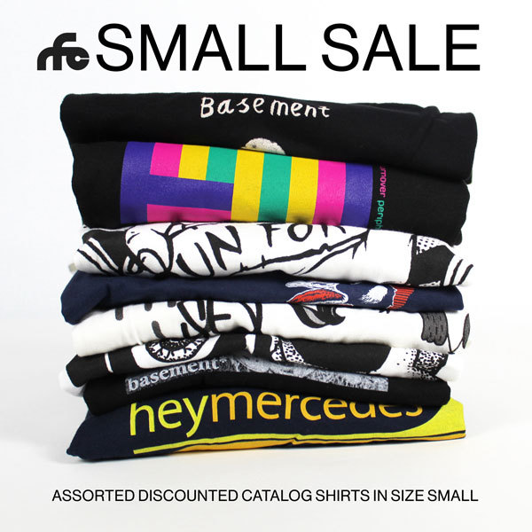 A Small Sale - Various Size Small Tees at Markdown Prices
