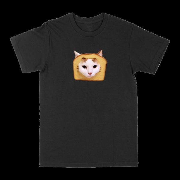 Bread Cat Tee - Black