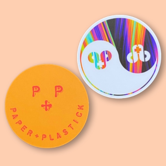 P+P Sticker 2 Pack