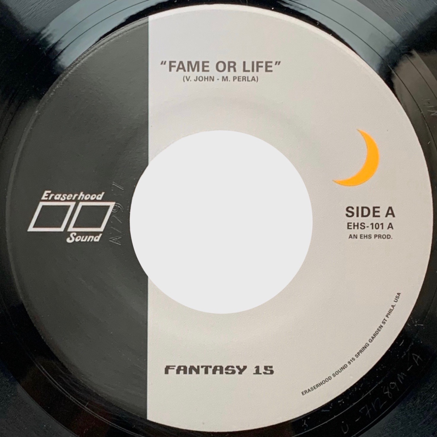 Fantasy 15 - FAME OR LIFE b/w THE MENACE