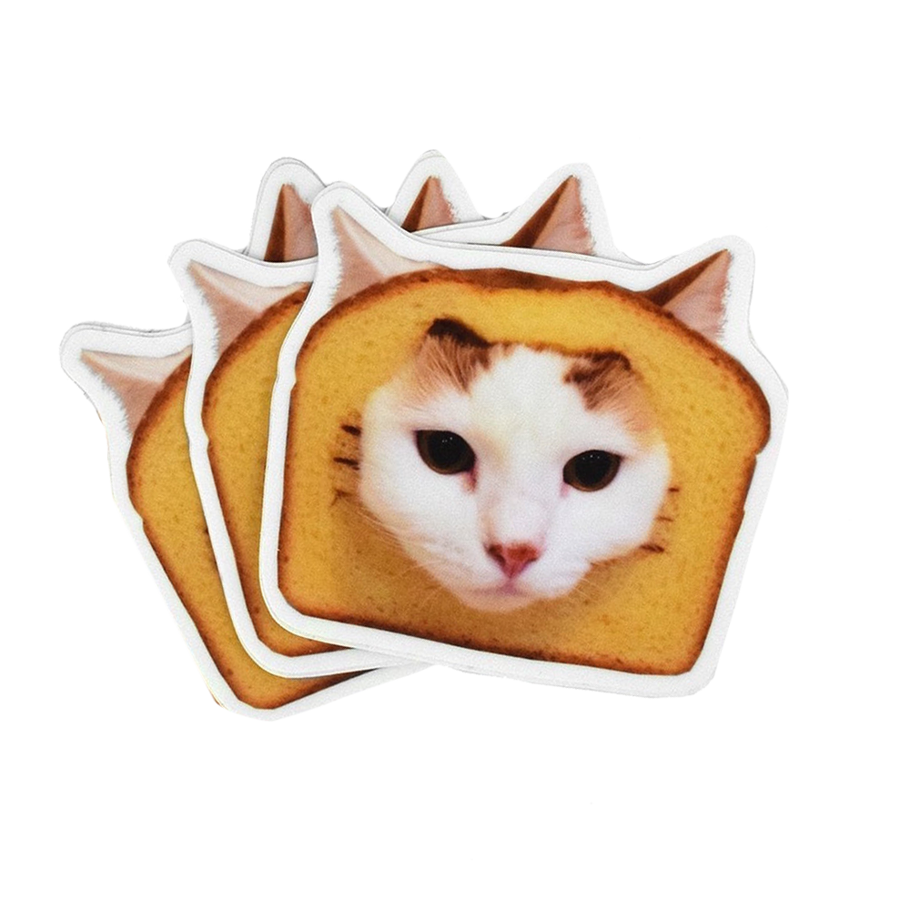 Bread Cat Stickers