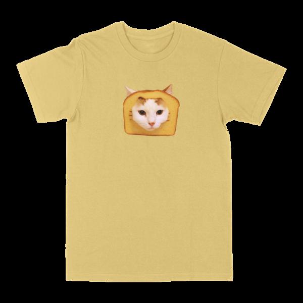 Bread Cat Tee - Yellow