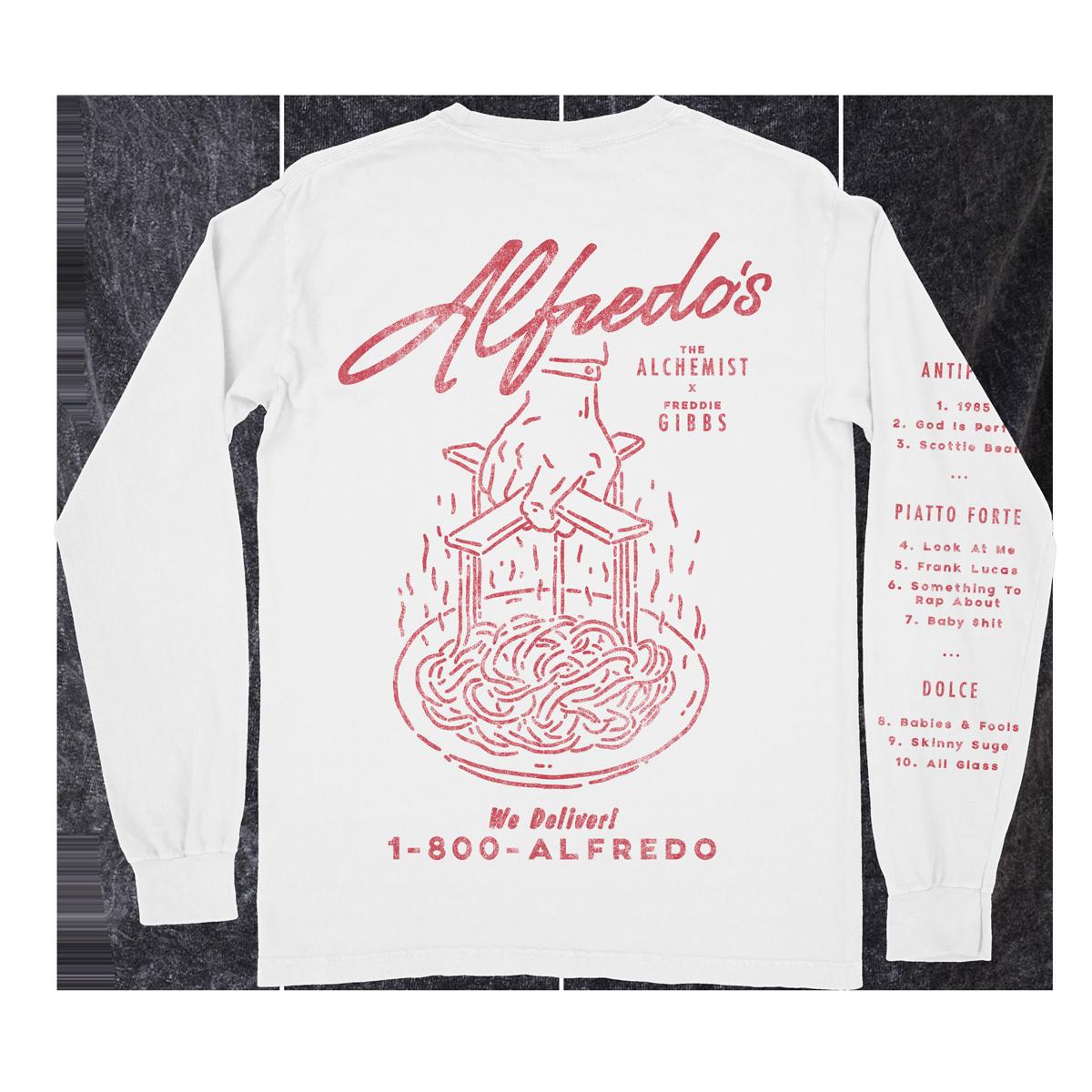 Alfredo Menu Long Sleeve