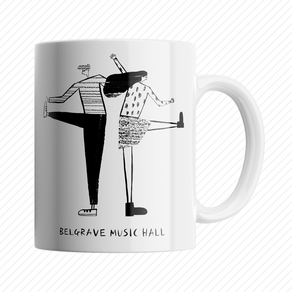 SUPER FRIENDZ X BELGRAVE MUSIC HALL MUG