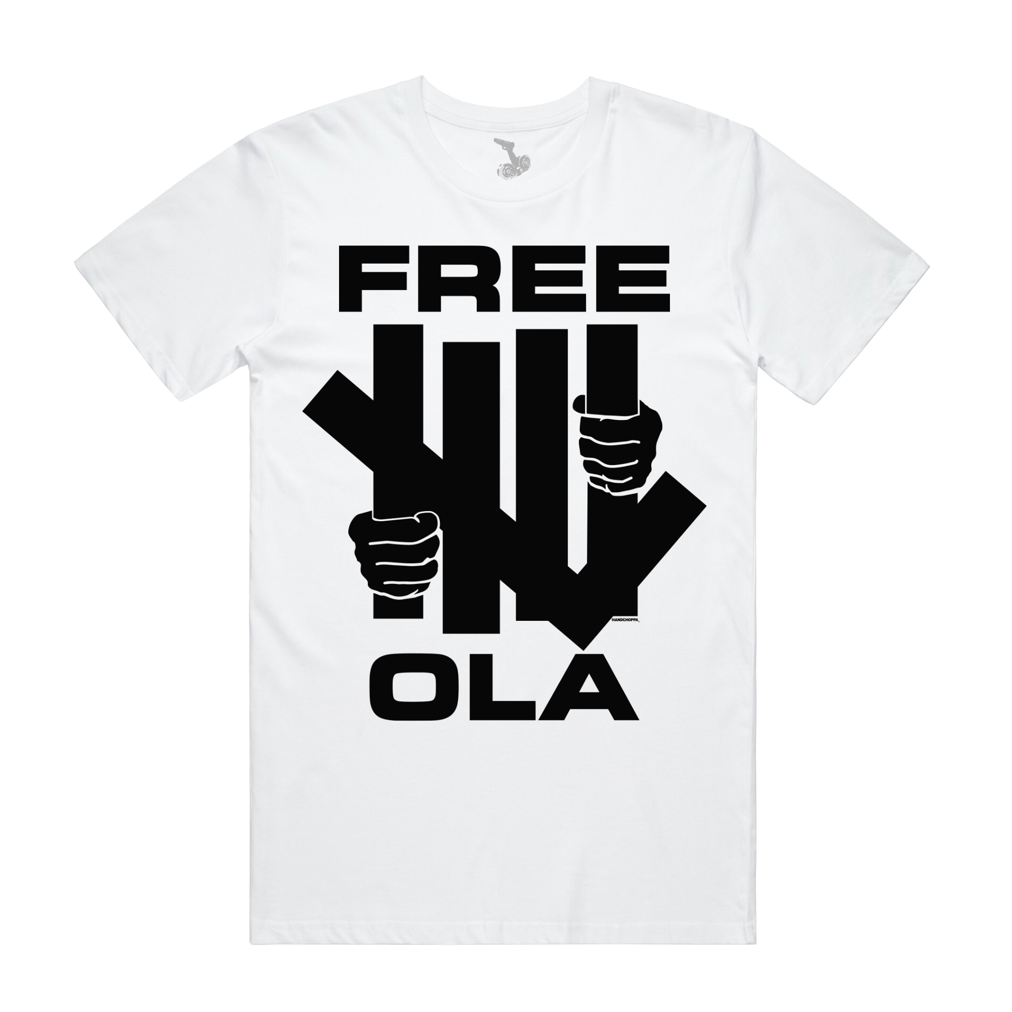 Free Ola Tee - White