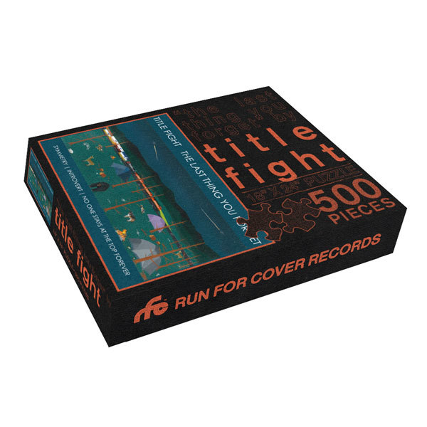 Title Fight - The Last Thing You Forget 500 Piece Jigsaw Puzzle