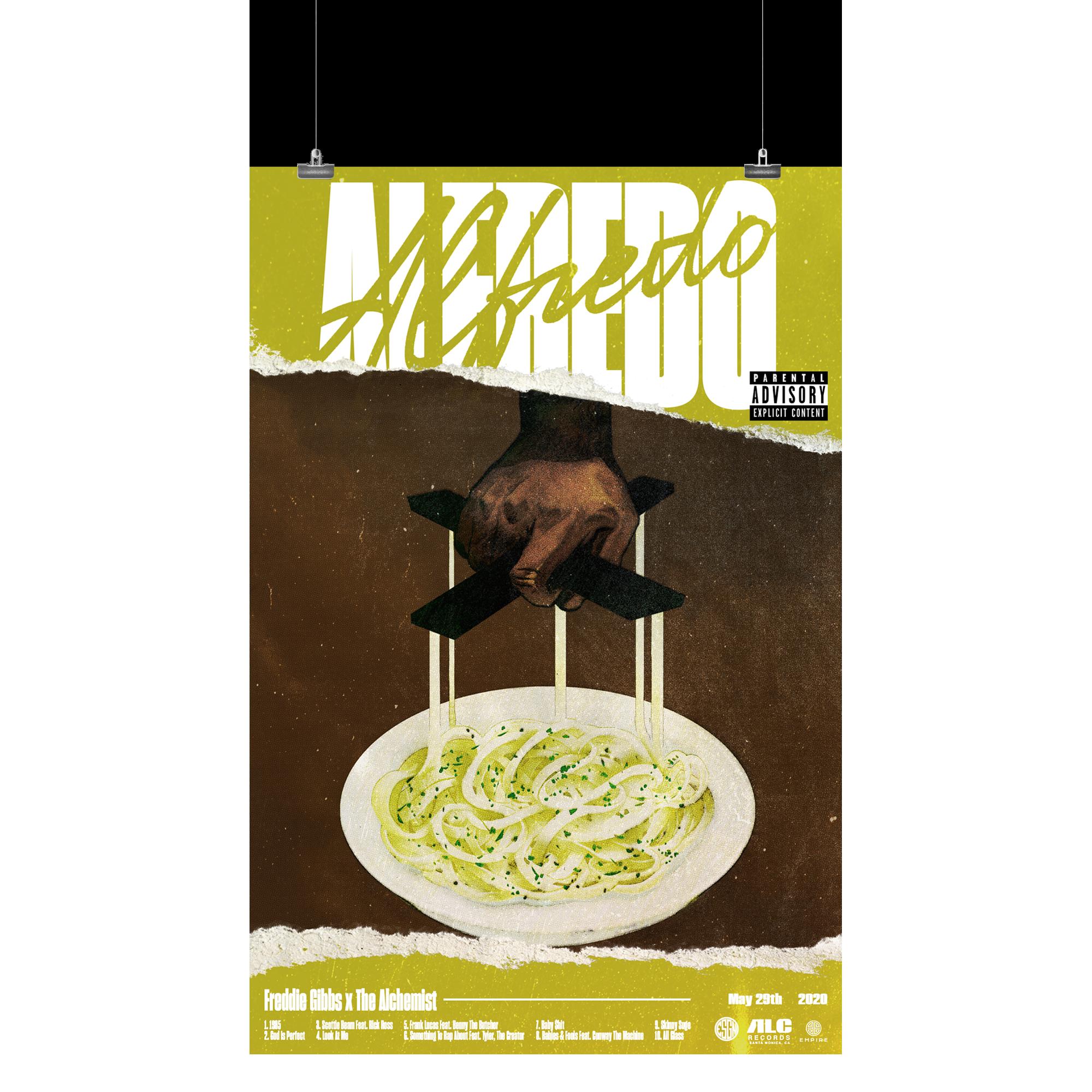 Alfredo Tracklist Poster