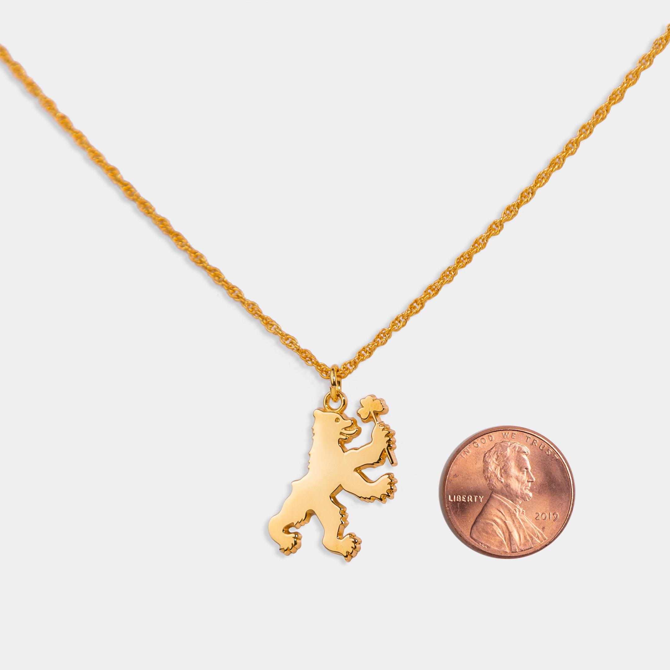 Heraldic Bear Gold 18