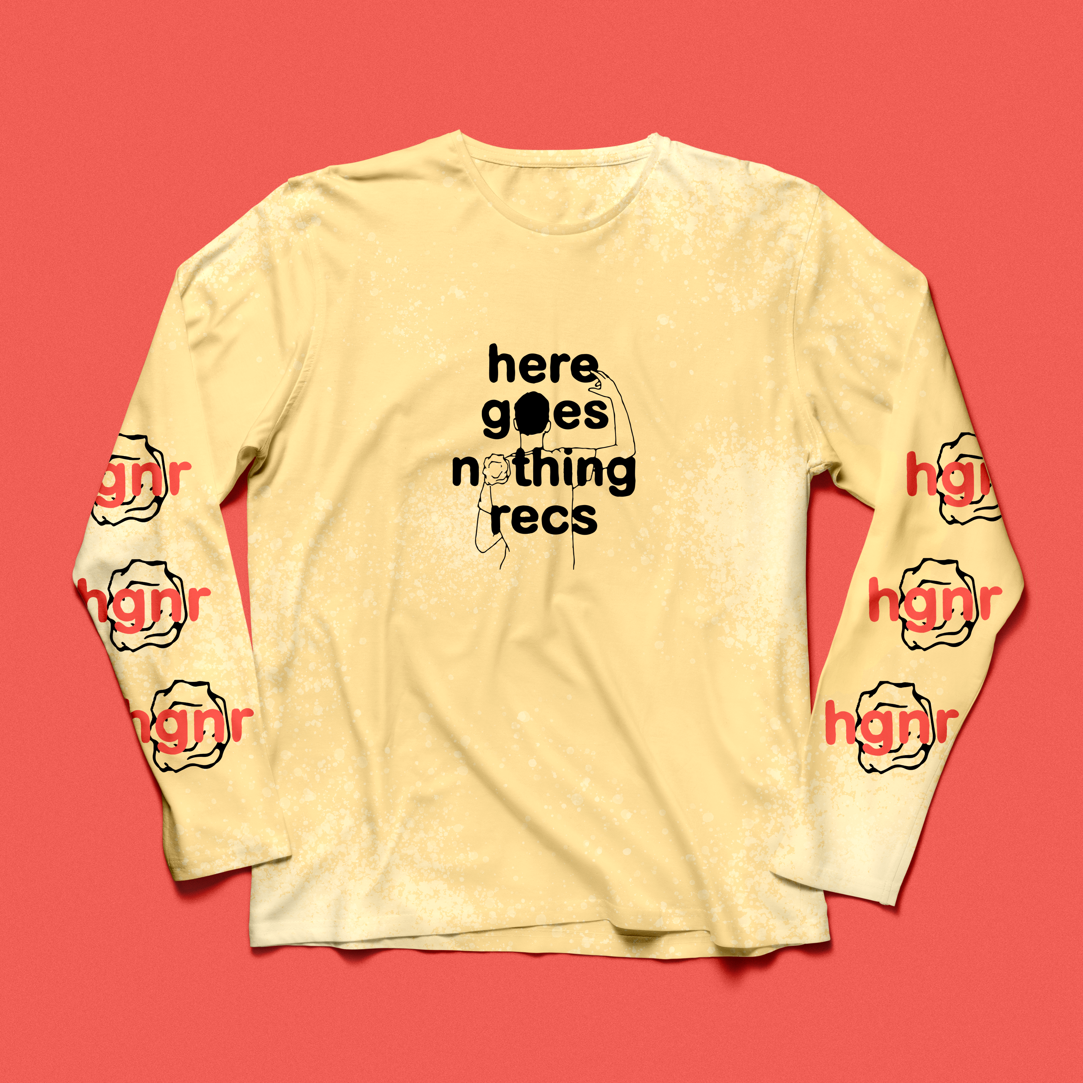Here Goes Nothing Records - Butter Yellow LS