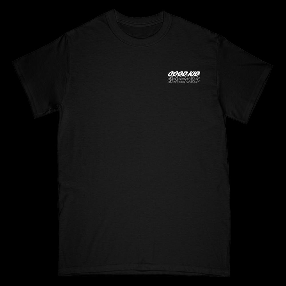Stacked Logo Tee - Black