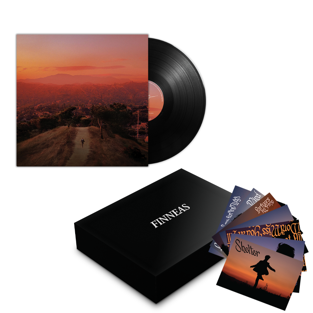 Postcards From Finneas + Patch + Vinyl Bundle