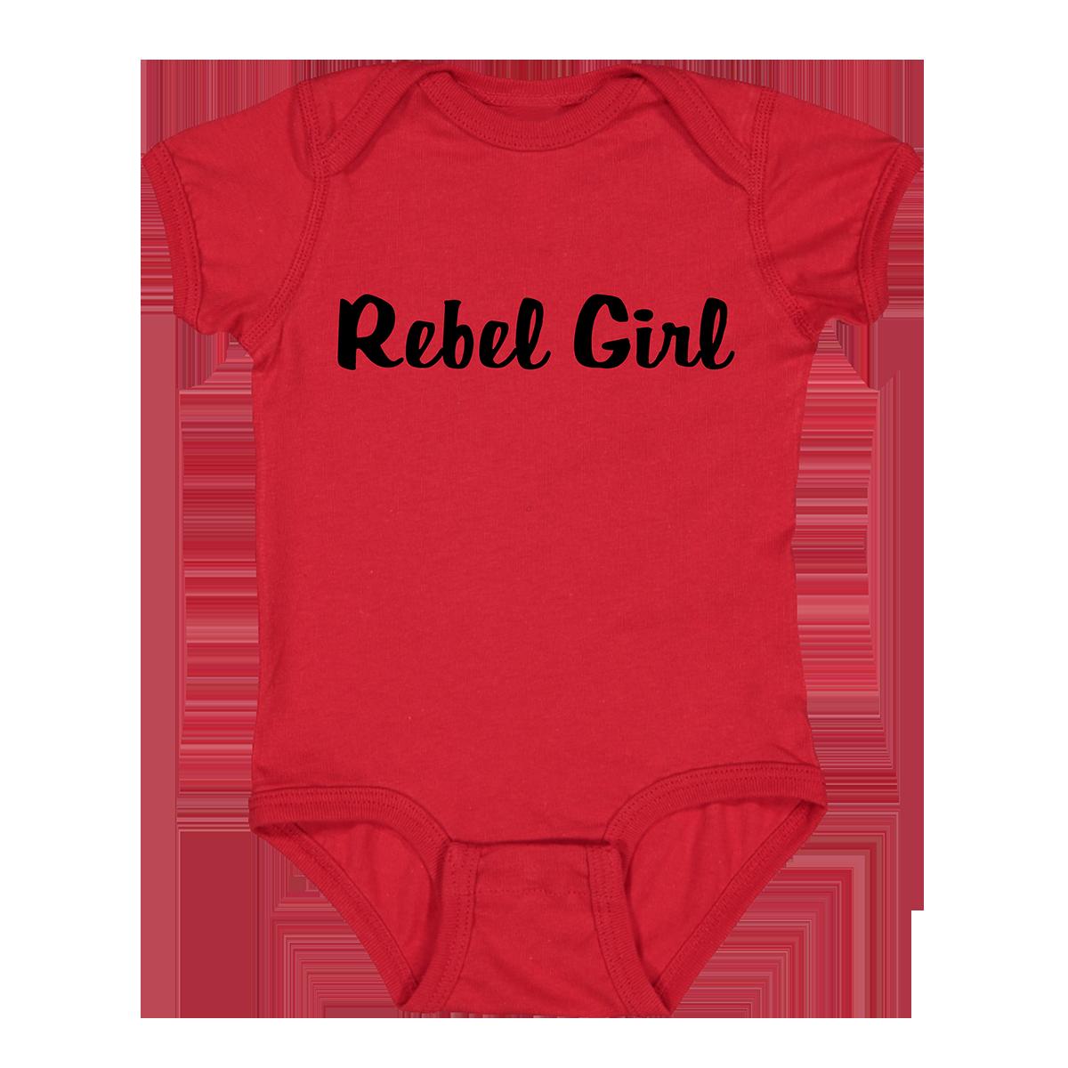Rebel Girl Onesie - Red