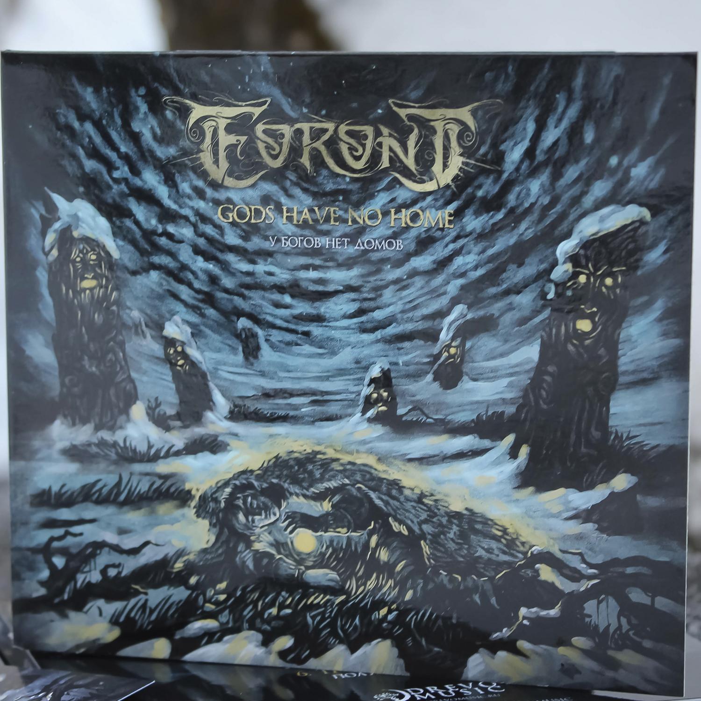 Eoront - Gods Have No Home, CD