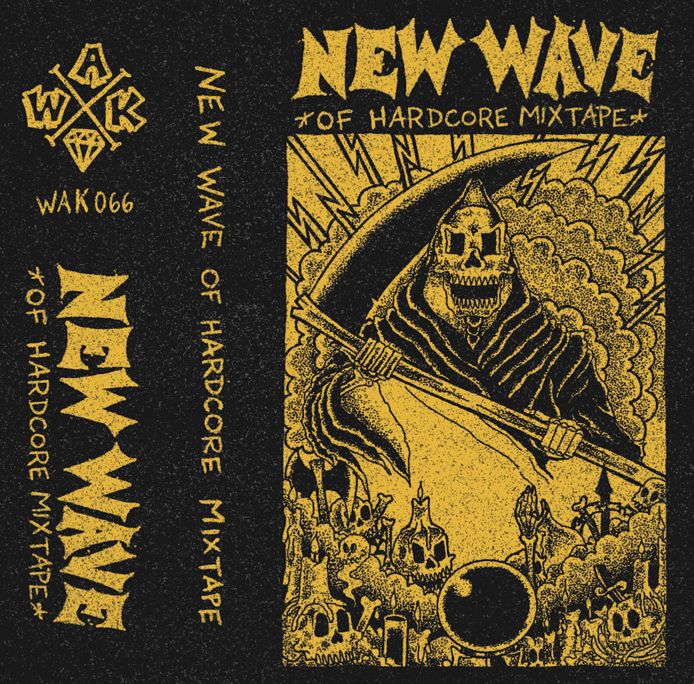 -sold out- V/A New Wave of Hardcore mixtape CS