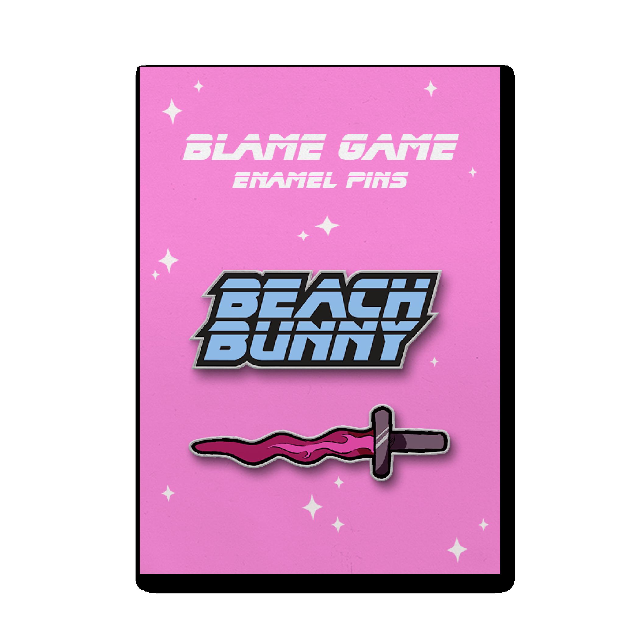 Blame Game Enamel Pins