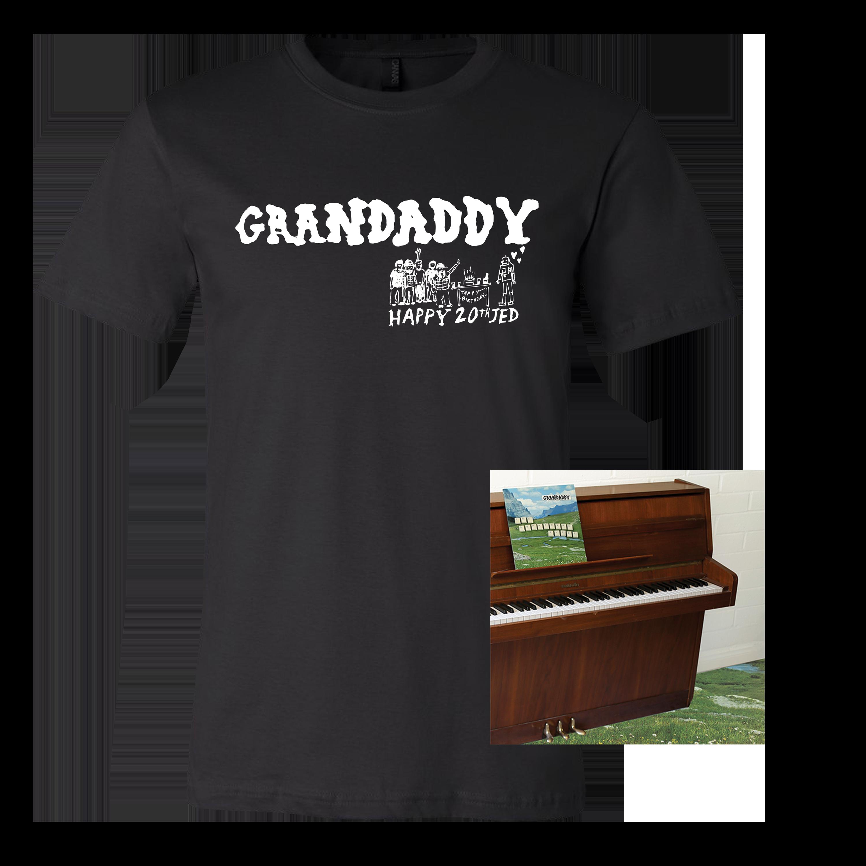 Grandaddy - The Sophtware Slump (20th Anniversary) Black T-Shirt