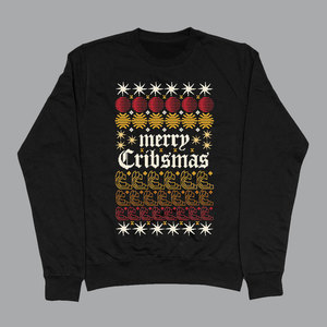 The Cribs – Night Network – Limited Edition Cribsmas Sweater