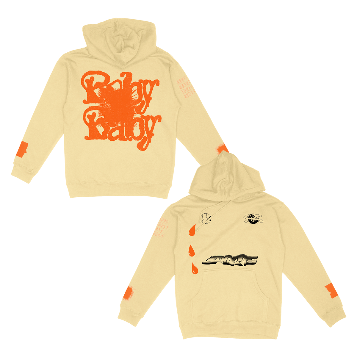 Cry Baby Baby Hoodie