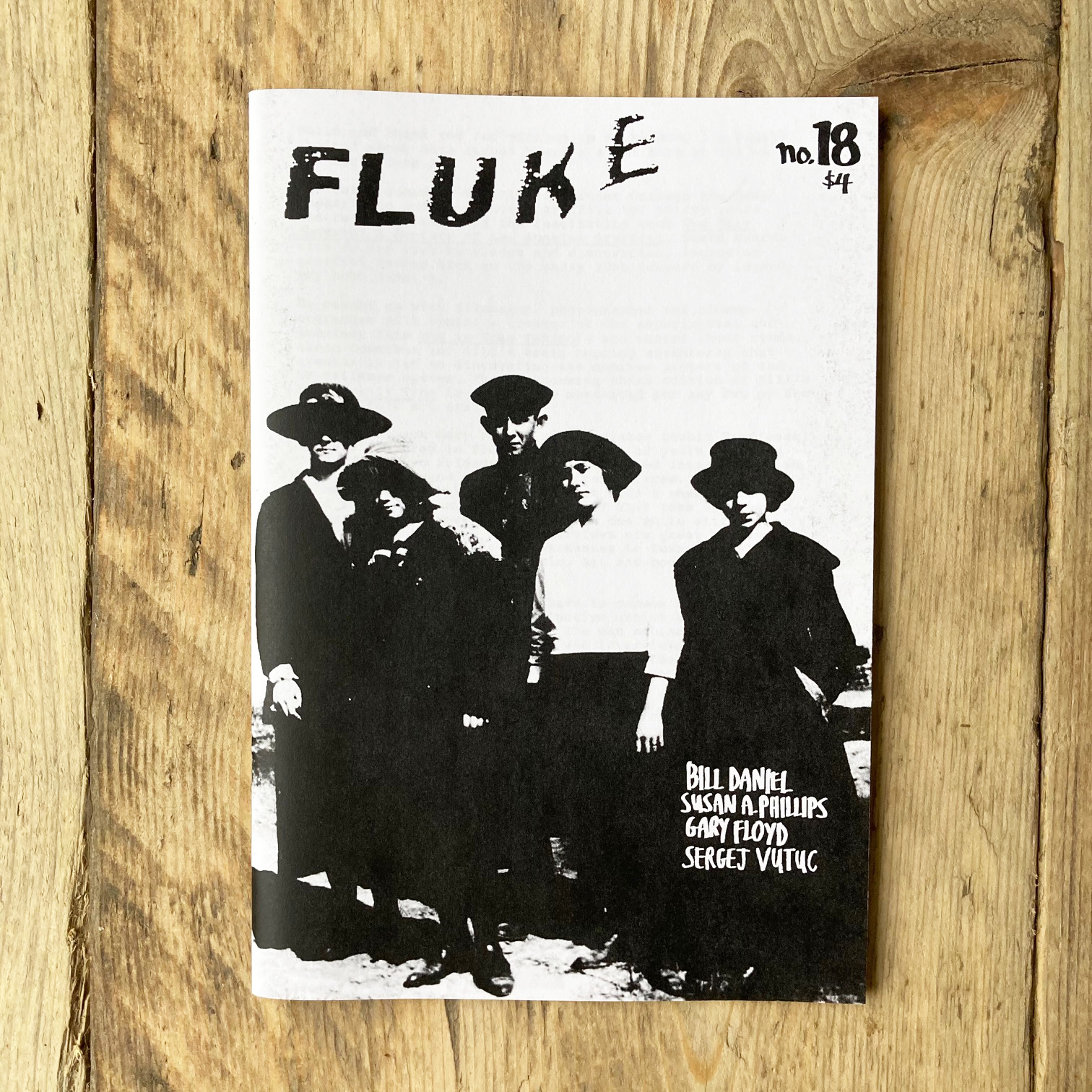 Fluke Fanzine #18: Outsider Art & back issues