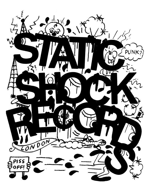 STATIC SHOCK RECORDS - Punk?  Shirt / Sweatshirt