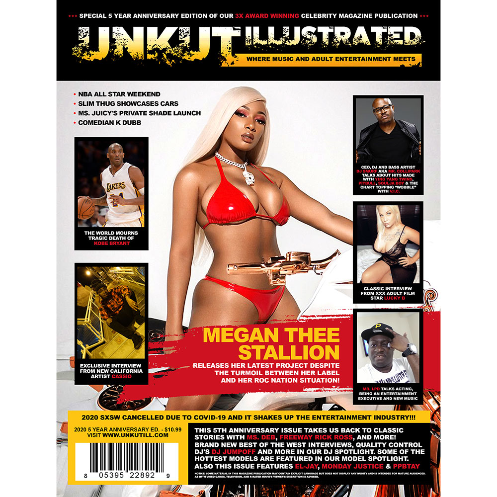 Unkut Illustrated - 5th Anniversary Edition (Megan Thee Stallion Cover)