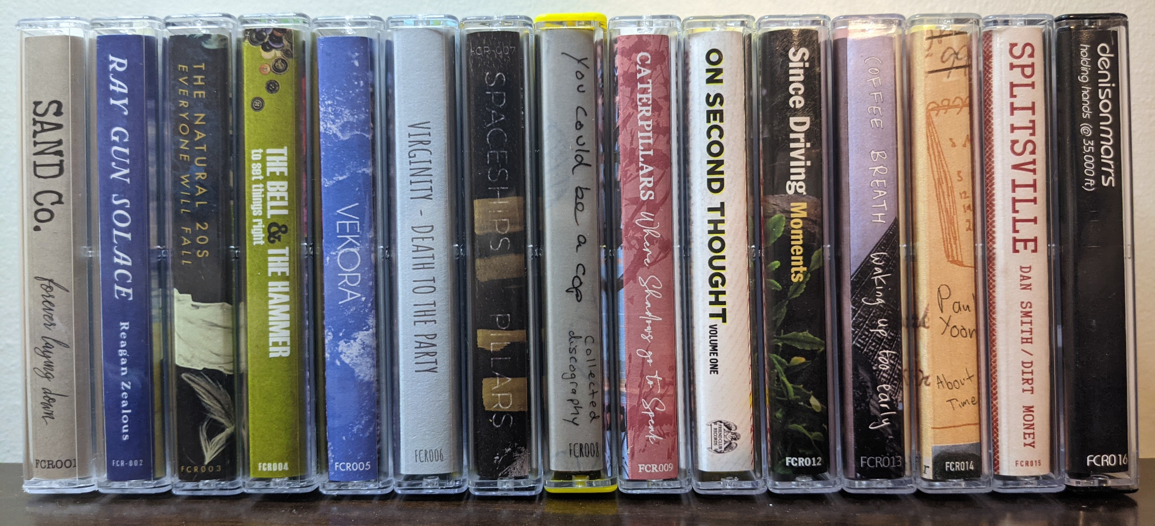 Three Tapes for Twelve Bucks