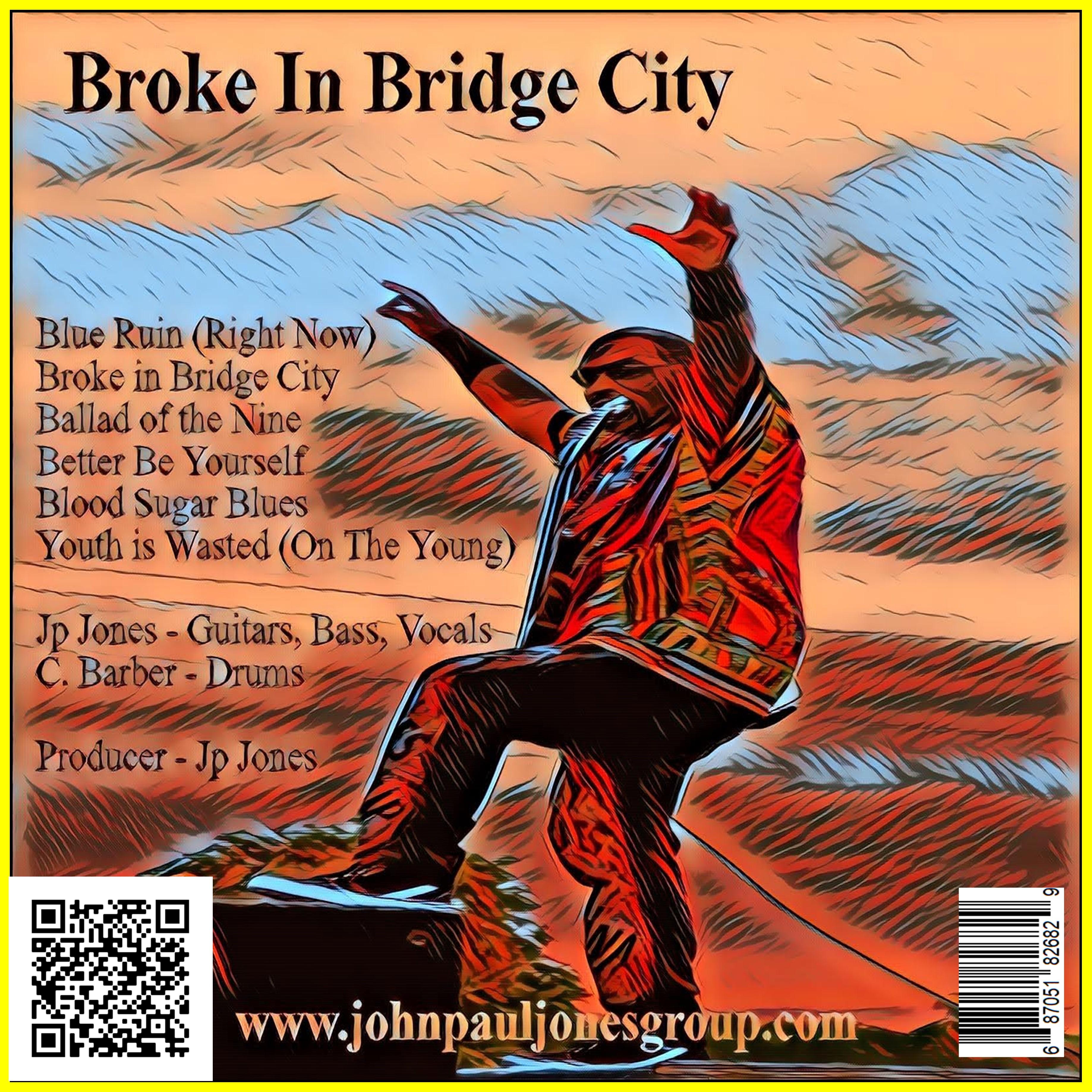 Broke In Bridge City - Physical LP + Digital Sample Download