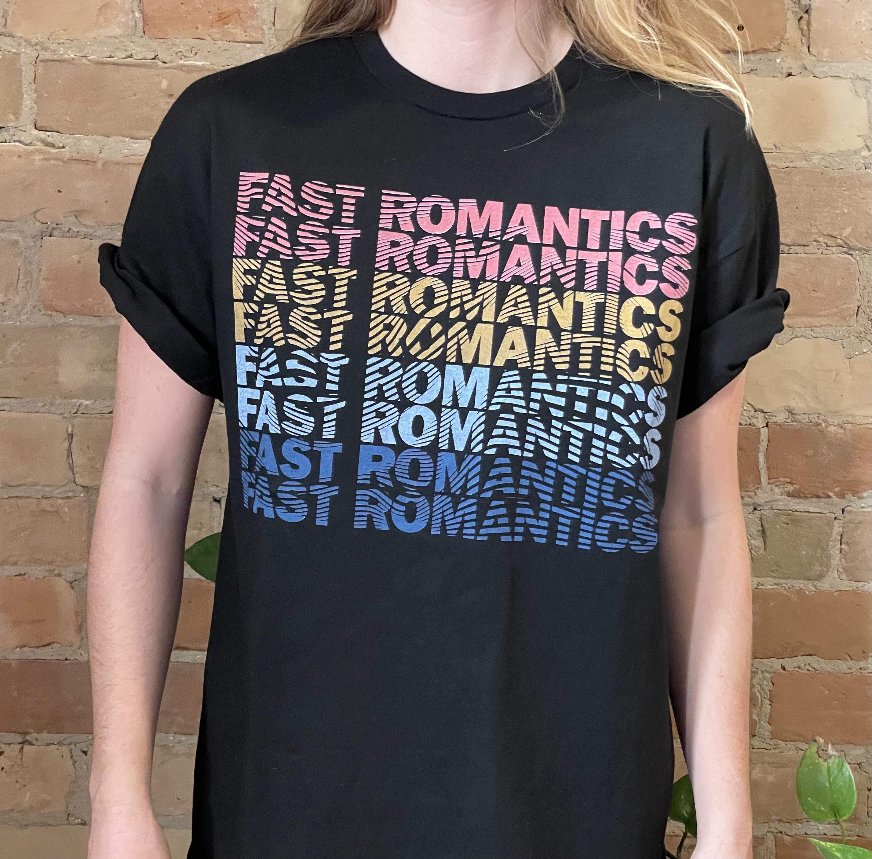 """Colours"" T-Shirt  (Black)"