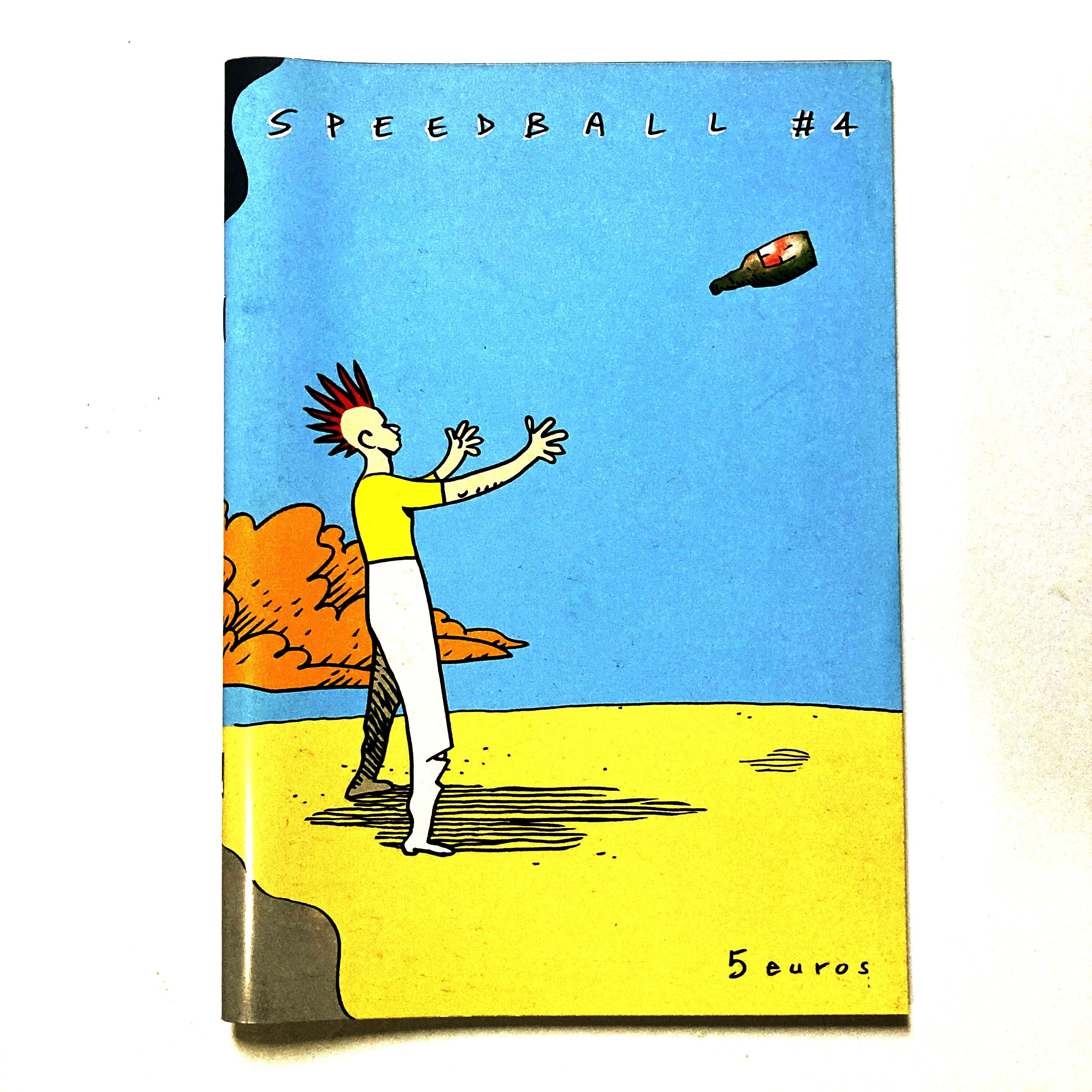 Speedball #4 - punk & science fiction