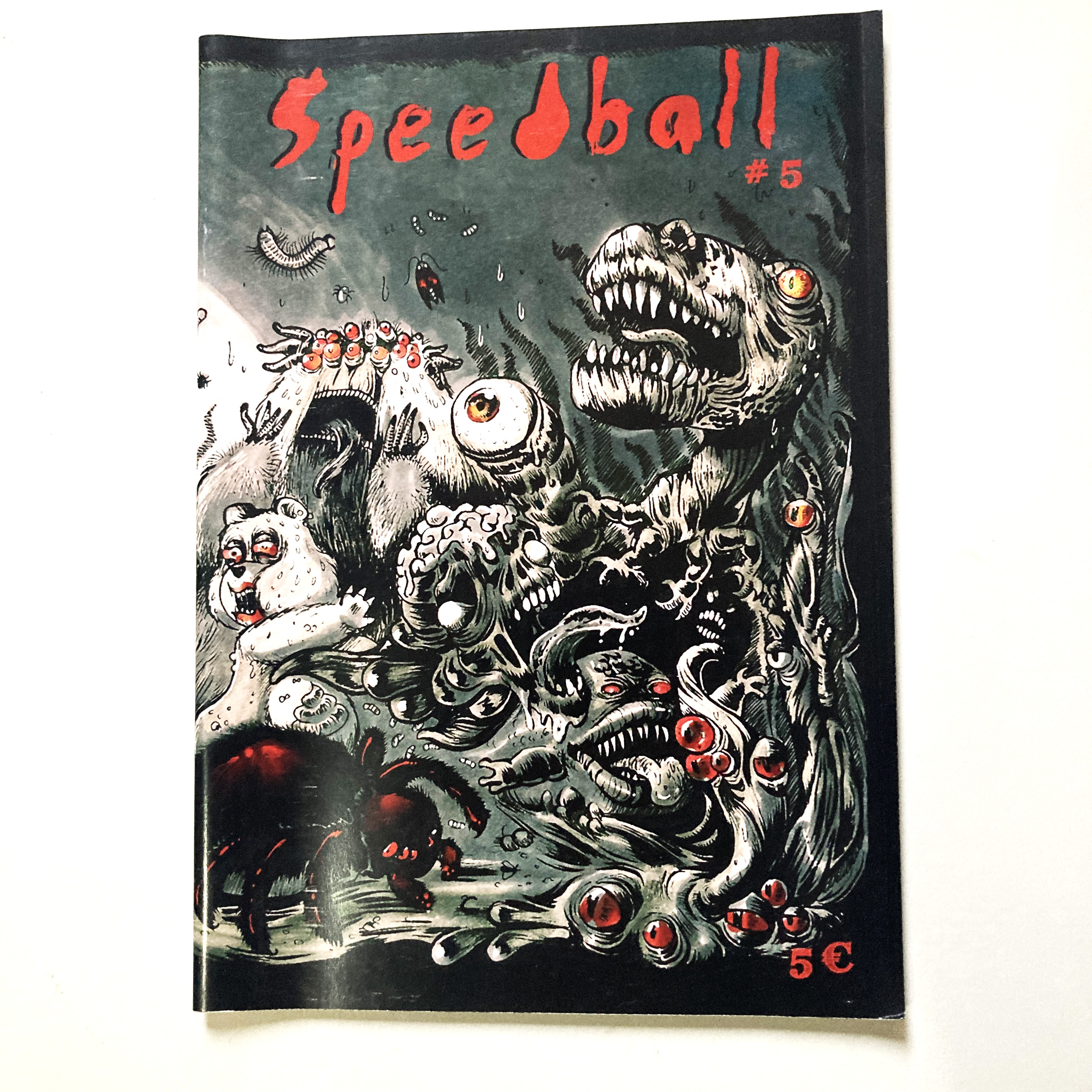 Speedball #5 - punk & phobies