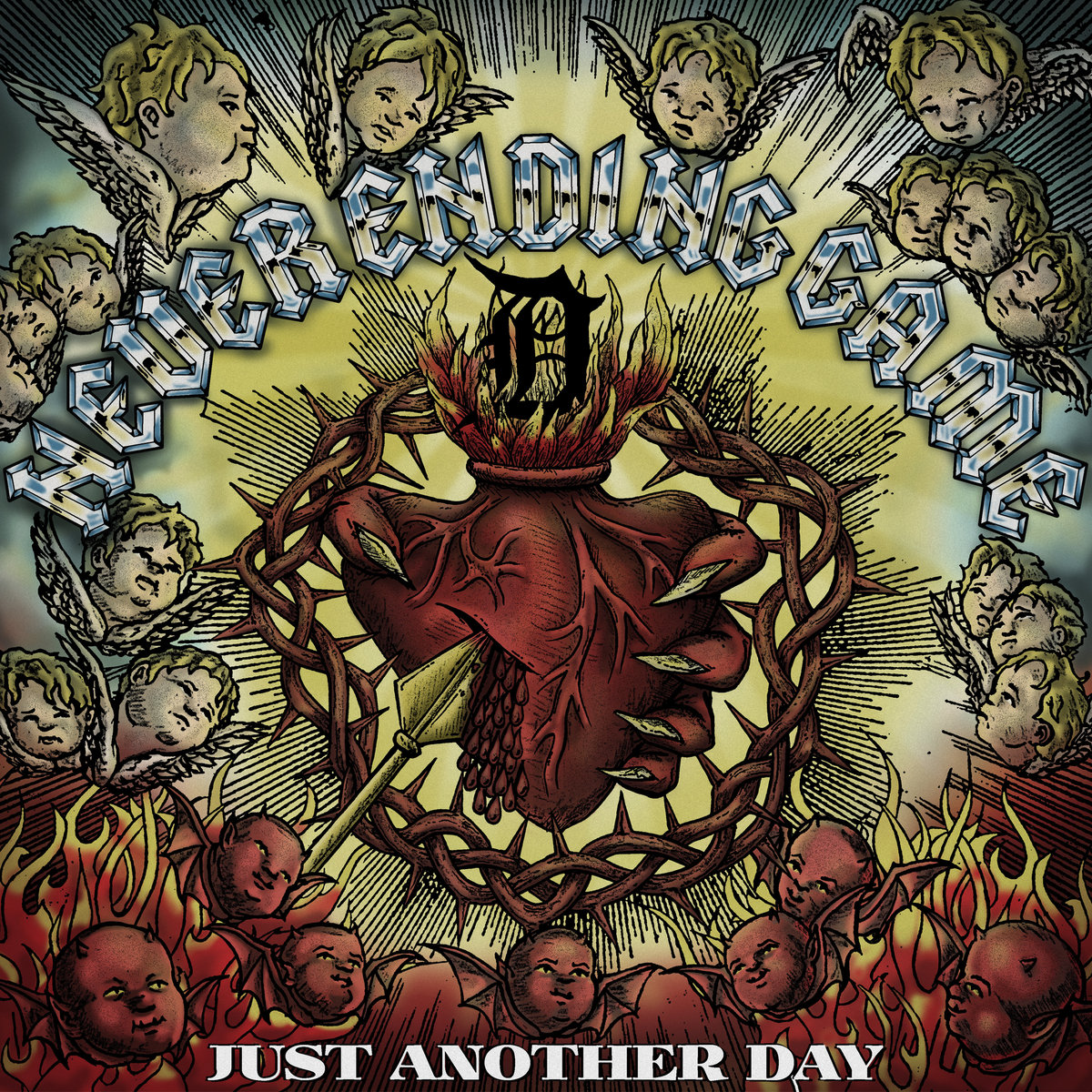 -sold out- Never Ending Game 'Just another day' LP