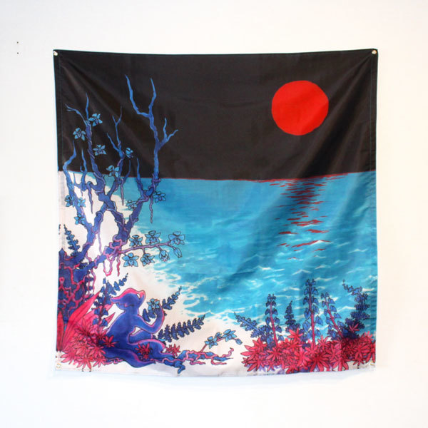 Glass Beach - the first glass beach album Wall Banner Flag