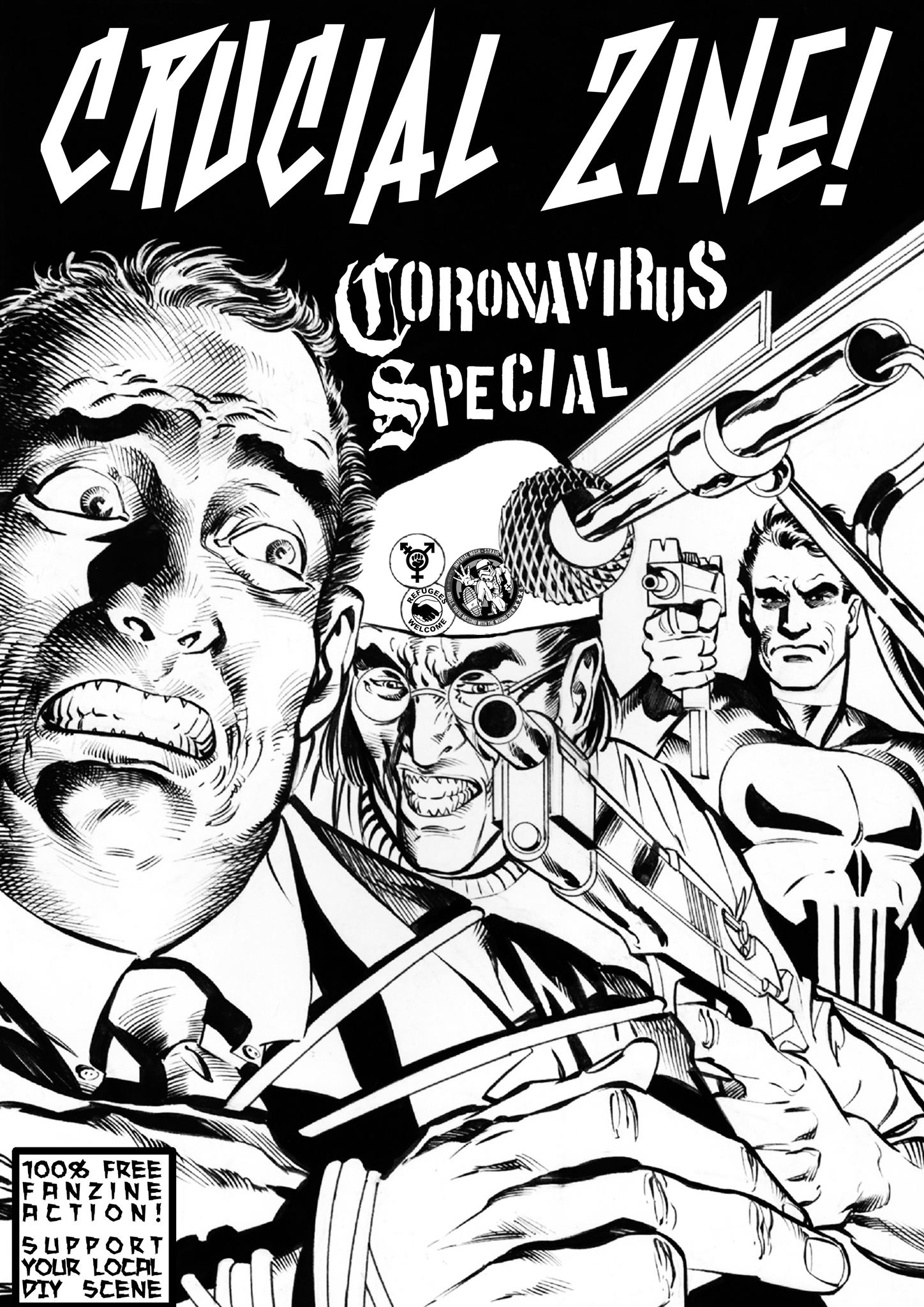 -sold out- Crucial Zine! corona virus special 1