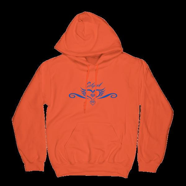 Tattoo Hoodie (Orange)
