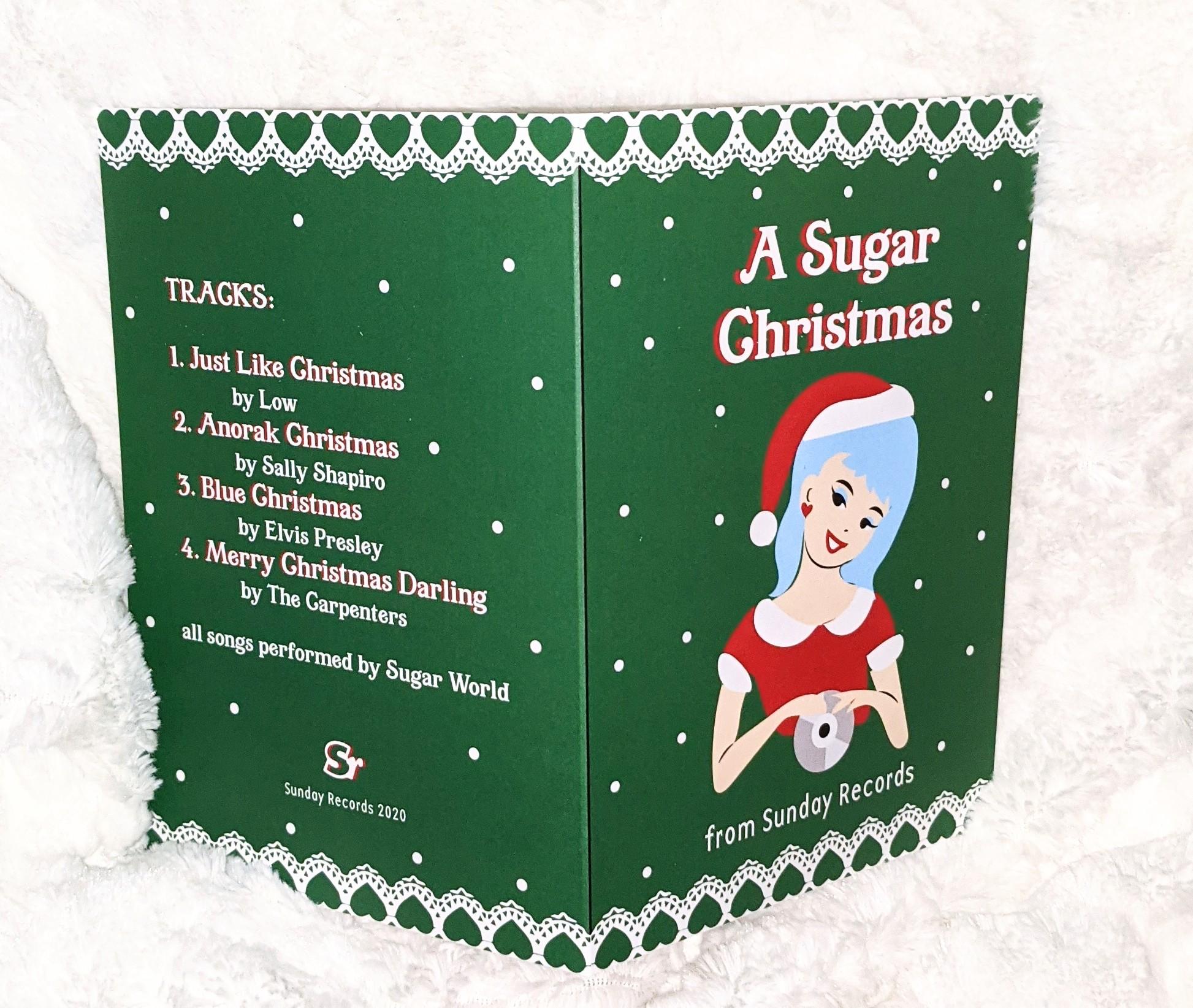 Sugar World - A Sugar Christmas EP - CD  (free shipping)