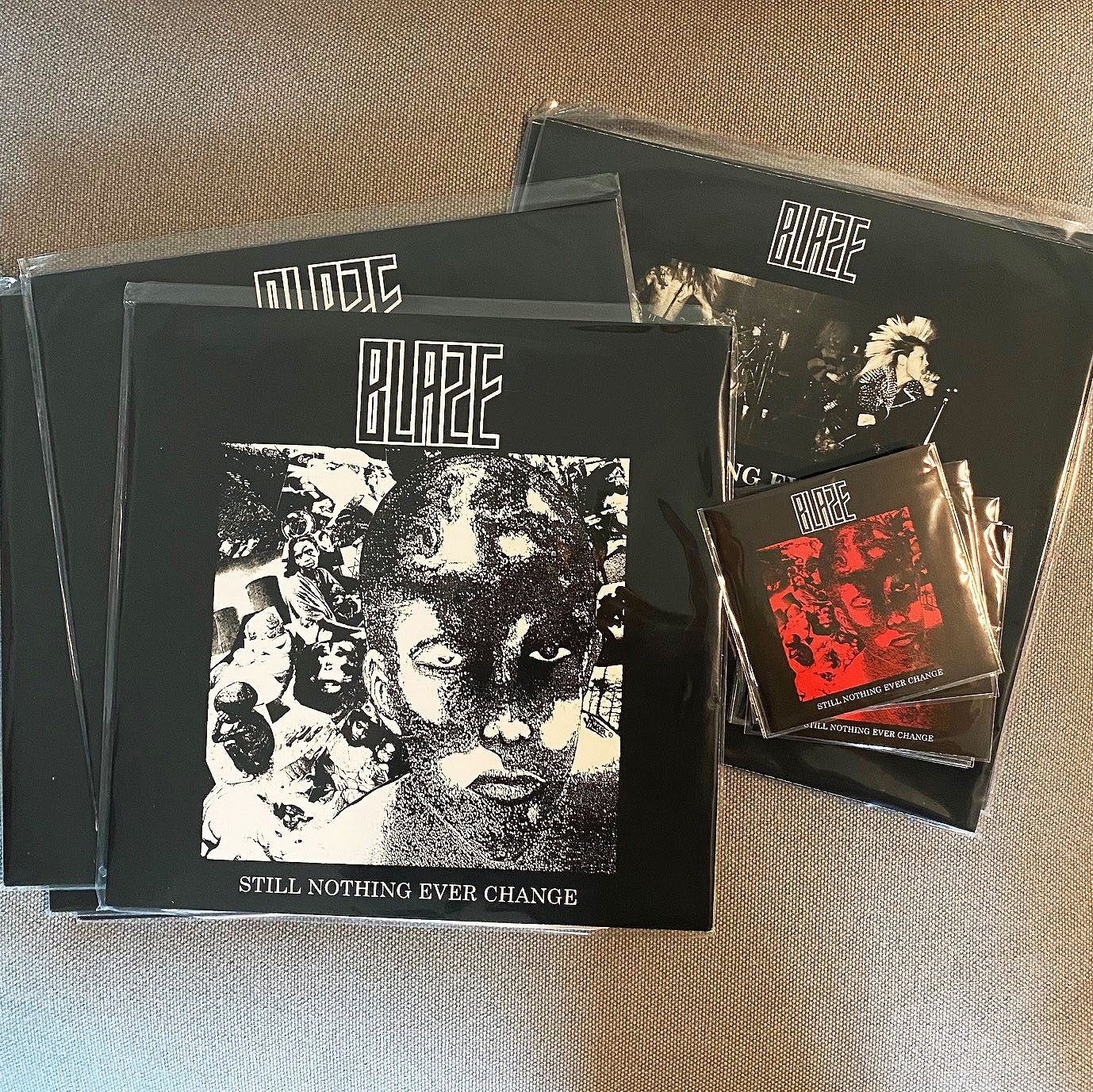 BLAZE - Still Nothing Ever Change LP + CD