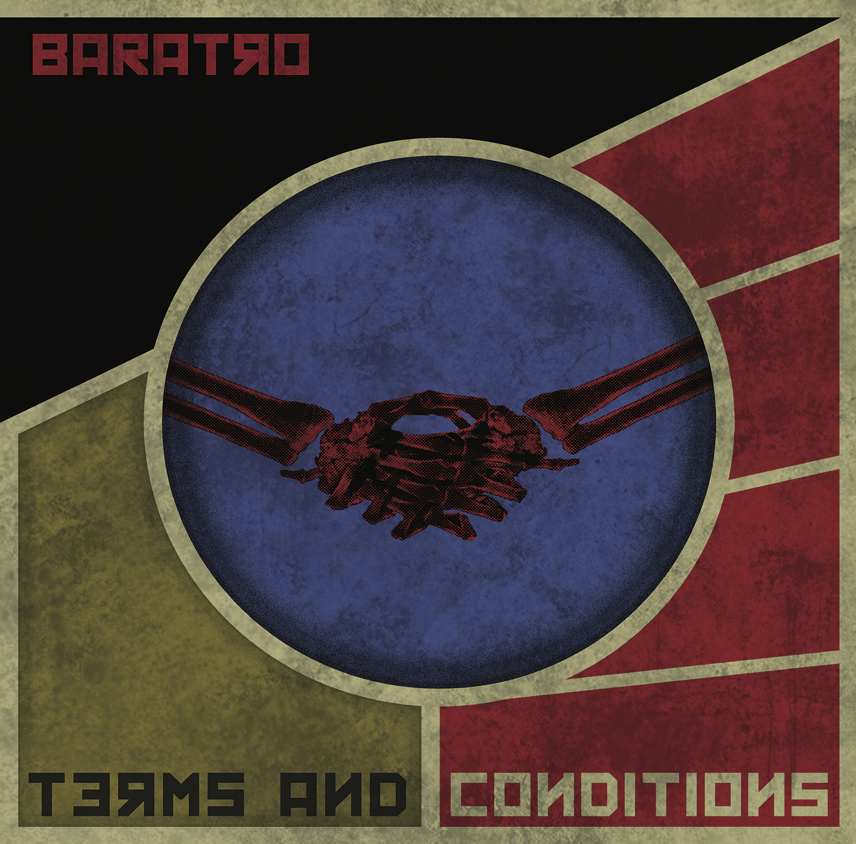 Baratro - Terms and conditions EP +  T - shirt Bundle