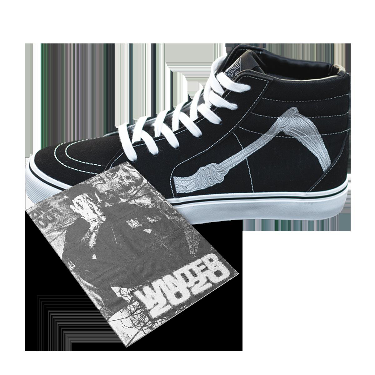 Winter Zine & High-Top Creeper Shoes Bundle
